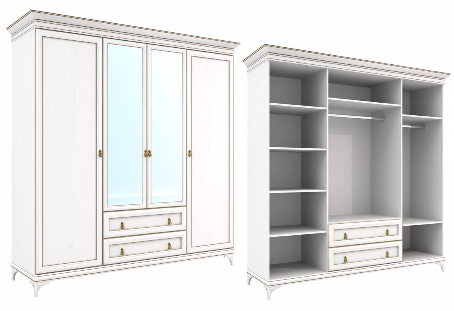 Агата Мод.АТ-1 Шкаф для одежды