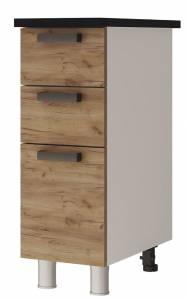 3Р3 Шкаф-стол с 3-мя ящиками Крафт