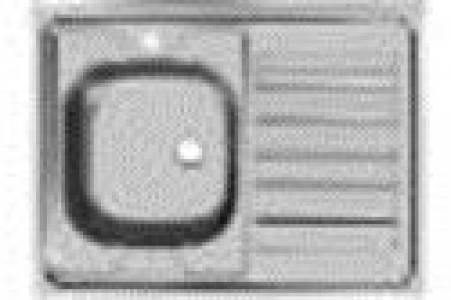 Мойка 80*60  с сифоном правая/левая