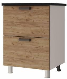 6Р2 Шкаф-стол с 2-мя ящиками Крафт