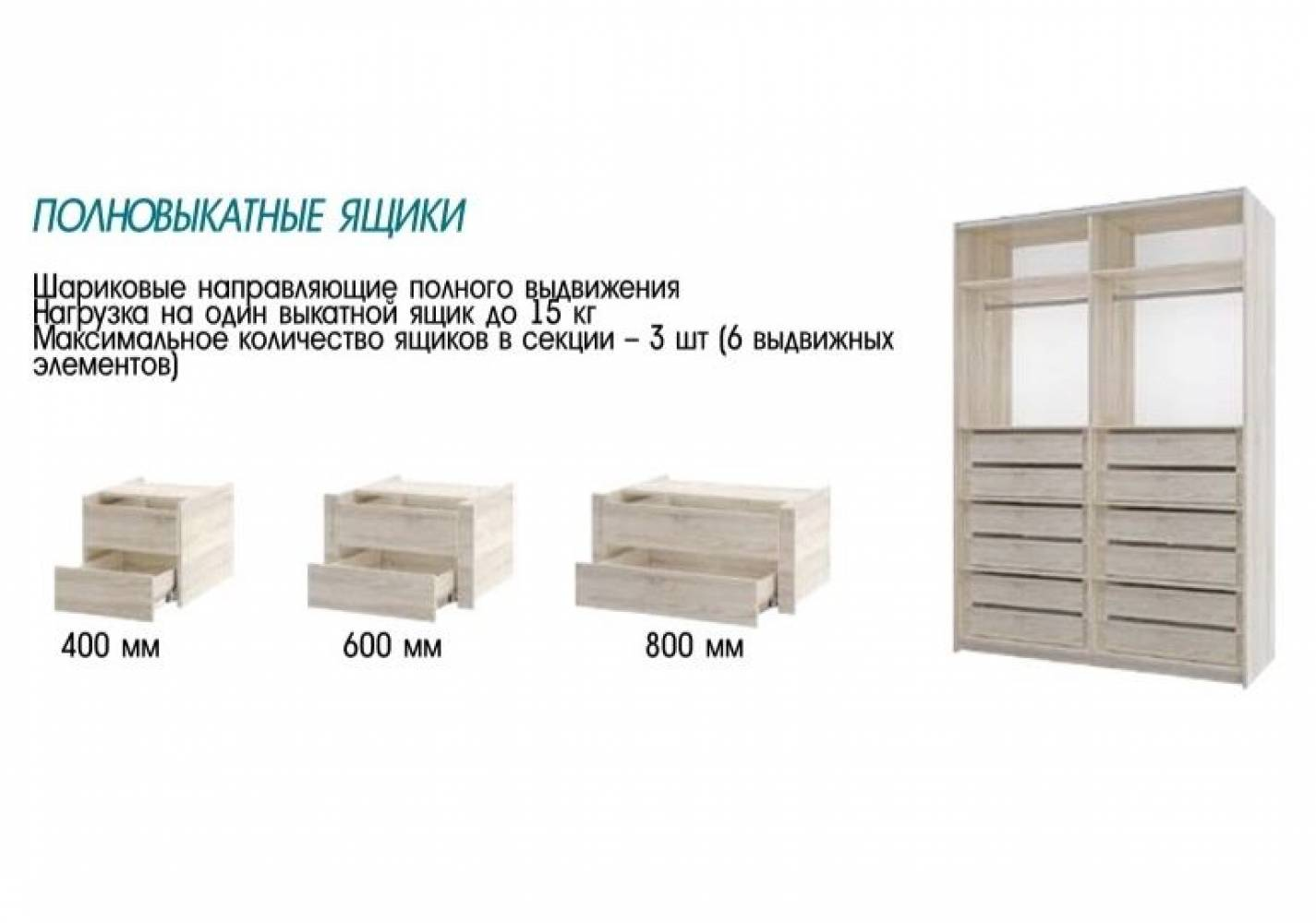 Шкаф Фортуна-10 (2000) 400/800/800