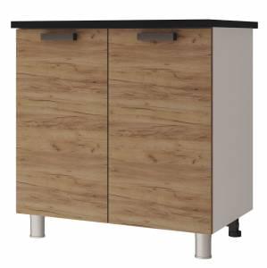 8Р1 Шкаф-стол рабочий 2-дверный Крафт