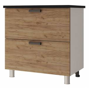 8Р2 Шкаф-стол с 2-мя ящиками Крафт