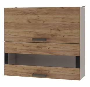 8В3 Шкаф настенный с дверями горизонтальными Крафт