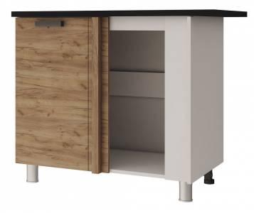 10УР2 Шкаф-стол угловой Крафт