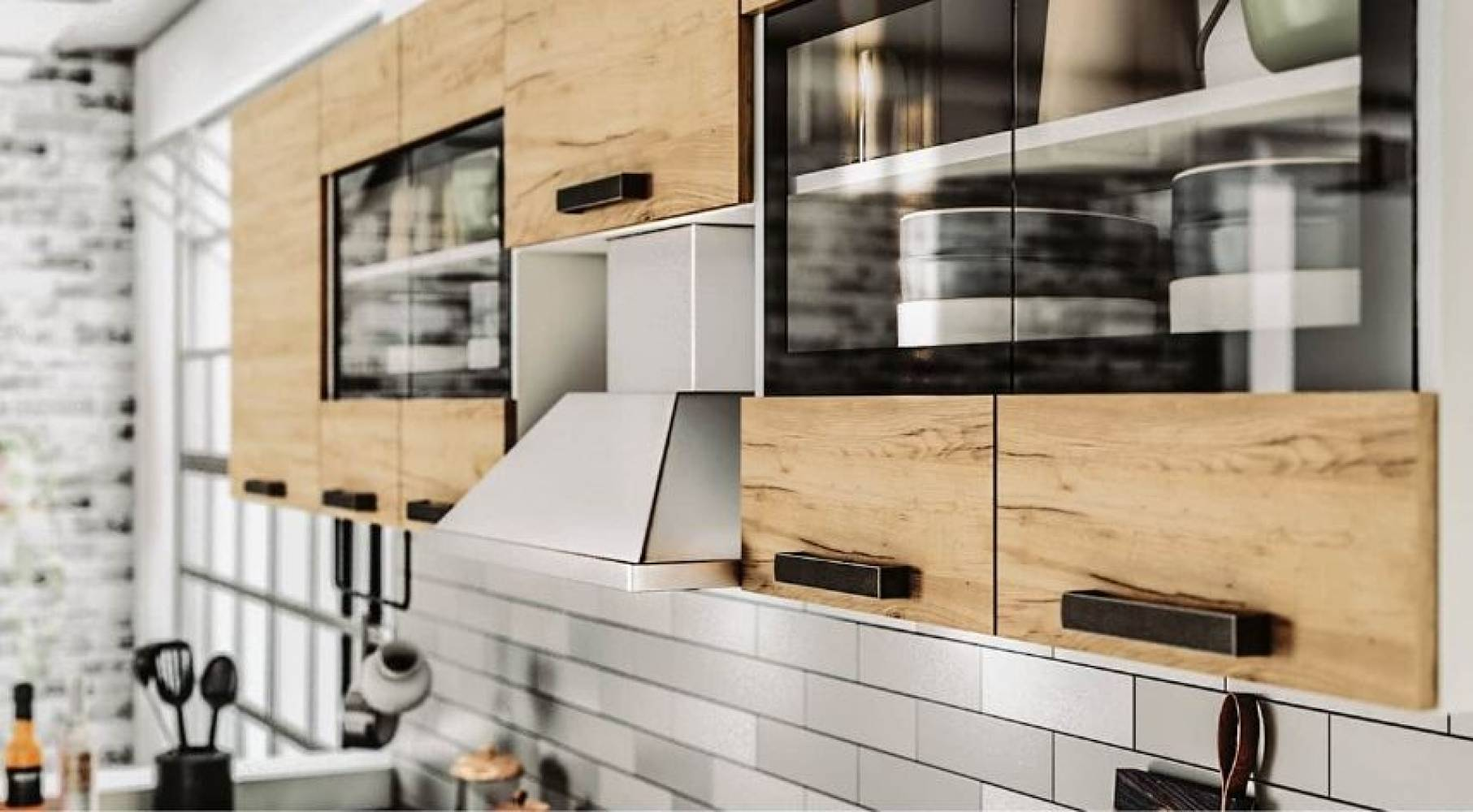 Модульная кухня Крафт. Комплект 3