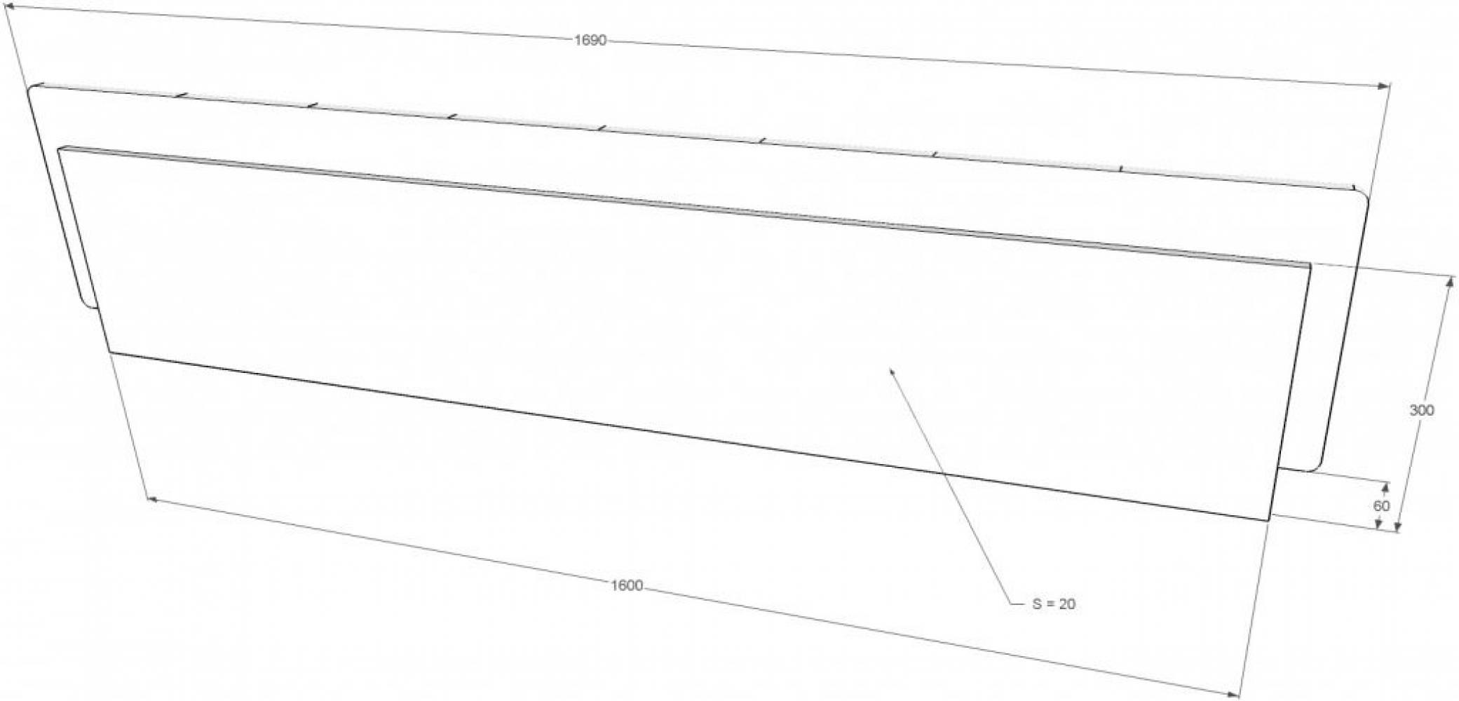 Кровать Лорена 160*200 (без страз) + основание 160 ножка 185 мм-5шт