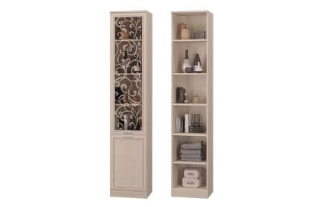 Гостиная Верона, Шкаф для книг со стекл.дверкой