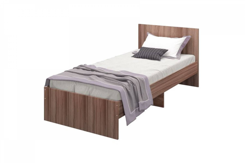 Кровать Мона 900 тем.ясень