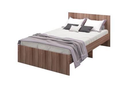 Кровать Мона 1200 тем.ясень