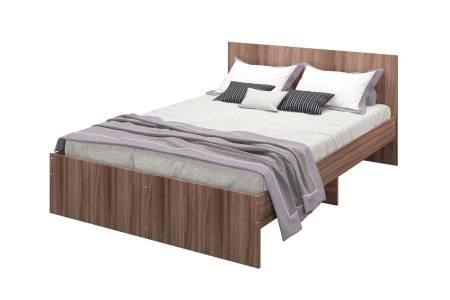 Кровать Мона 1400 тем.ясень