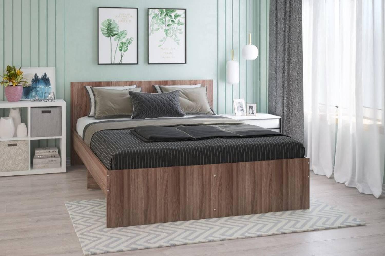 Кровать Мона 1600 тем.ясень
