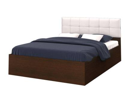 Кровать Селена 1600 венге цаво/экок.vega white