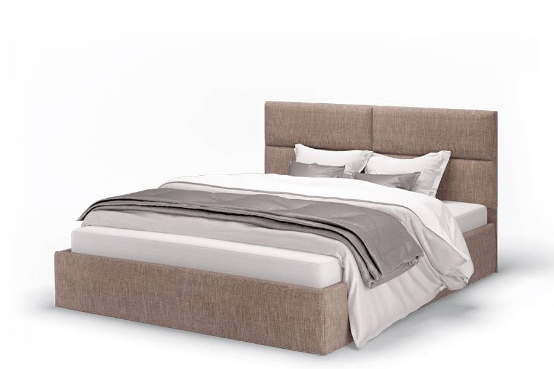 Кровать Сити 1200 ткань latte,без основания