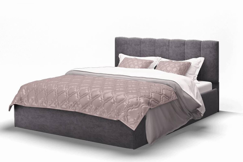 Кровать Элен 1600 ткань ROCK 08/графит
