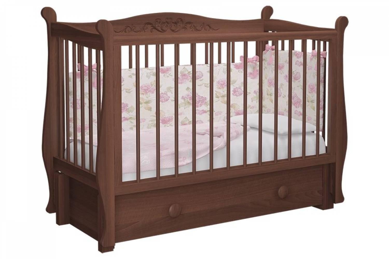 Кровать Джулия орех лак