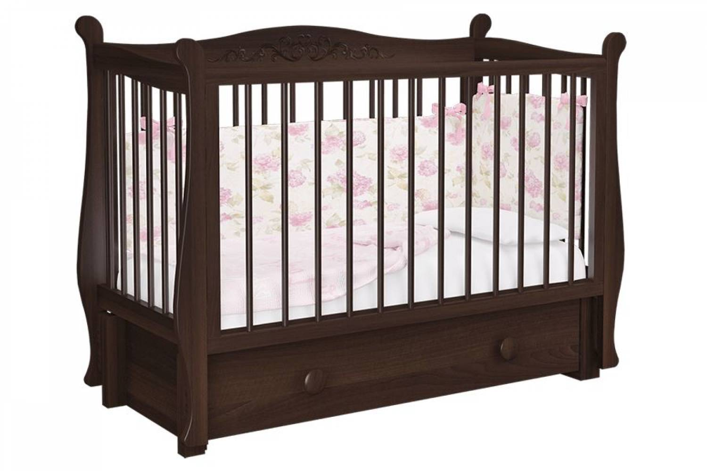 Кровать Джулия шоколад