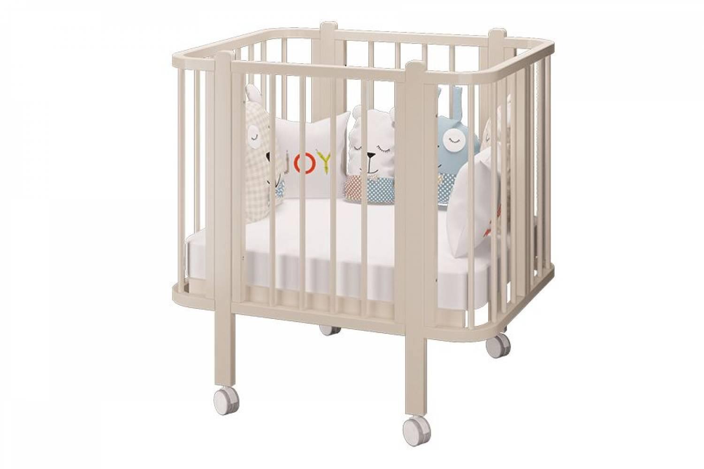 Кровать деревянная детская Оливия базовая слоновая кость