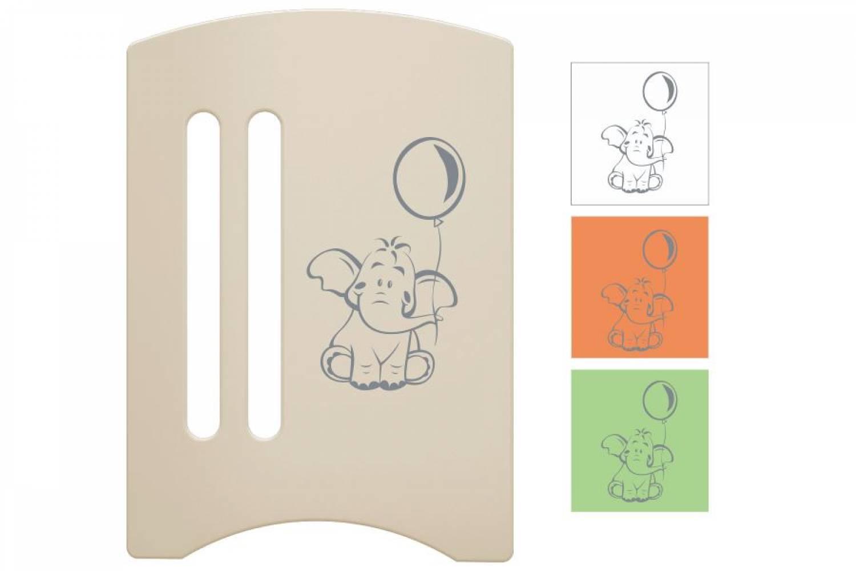 Кроватка детская Софи 3 Слоник маятник + ящик