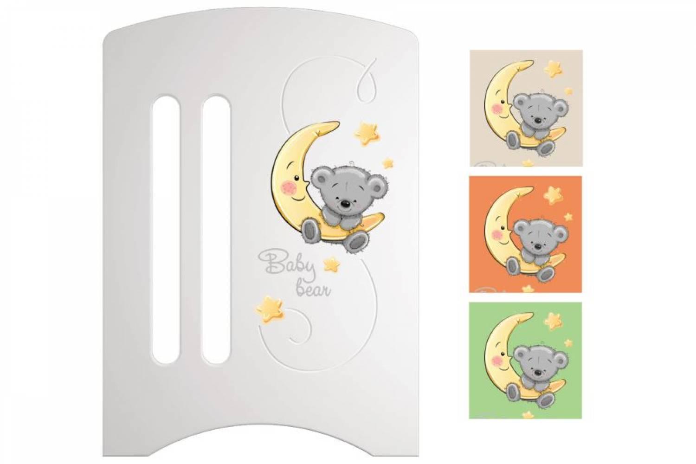 Кроватка детская Софи 3 Лунный мишка маятник + ящик