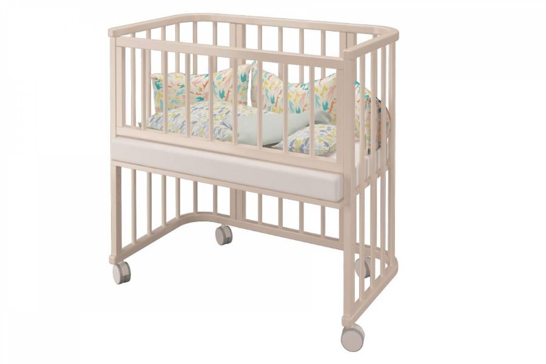 Кровать Эстель- приставная трансфор. слоновая кость