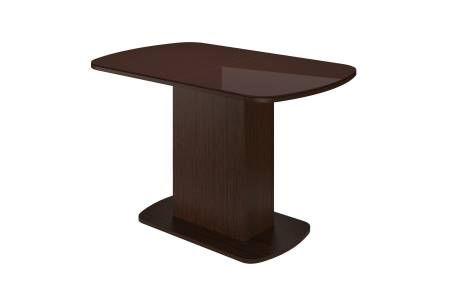 Стол обеденный раздв.11001420*700 Соренто 2 Шоколад глянец