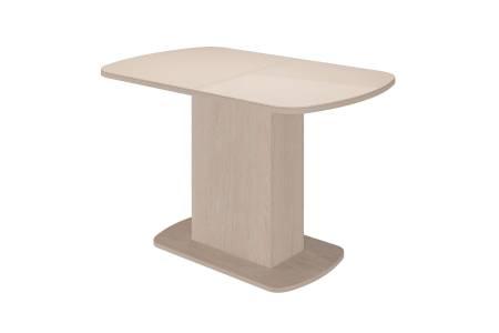 Стол обеденный раздв.11001420*700 Соренто 2 Ваниль глянец