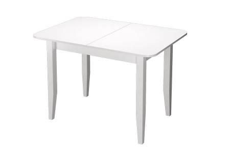 Стол обед.раздвижной Орион белый ПУ