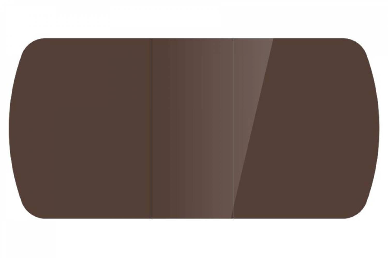 Стол раздвижнойБостон-3 Шоколад глянец с цельной вставкой 1100*700 опора брифинг