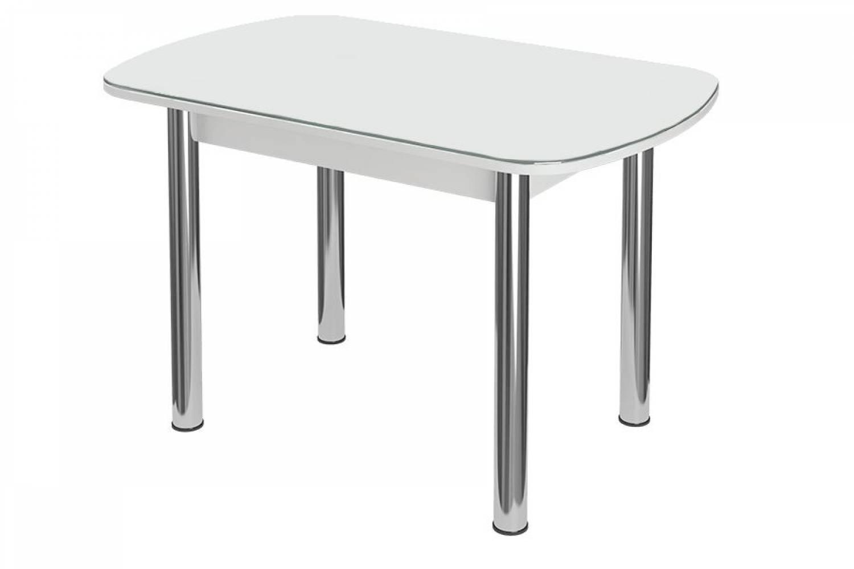 Стол раздвижнойБостон-3 Черника с цельной вставкой 1100*700 опора брифингфотопечат