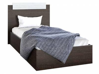 ЭКО Кровать 0,9 Венге/лоредо