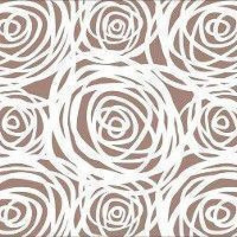 Стол ажурный овальный белый+лайм(квадро)