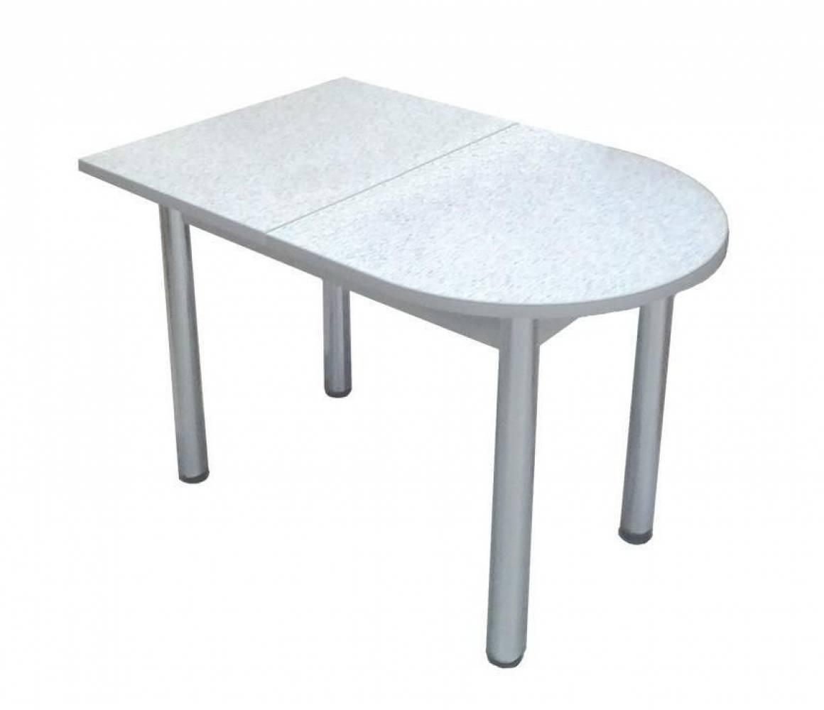 Стол пристенный Серый молокай