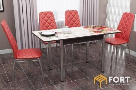 Стол прямоугольный раздвижной Дуб вотан (пластик 1 кат)