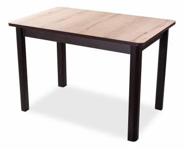 Стол раздвижной семейный Дуб вотан (пластик  1 кат,опора квадро))