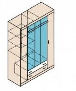 Ника Мод. Н13 Шкаф для одежды