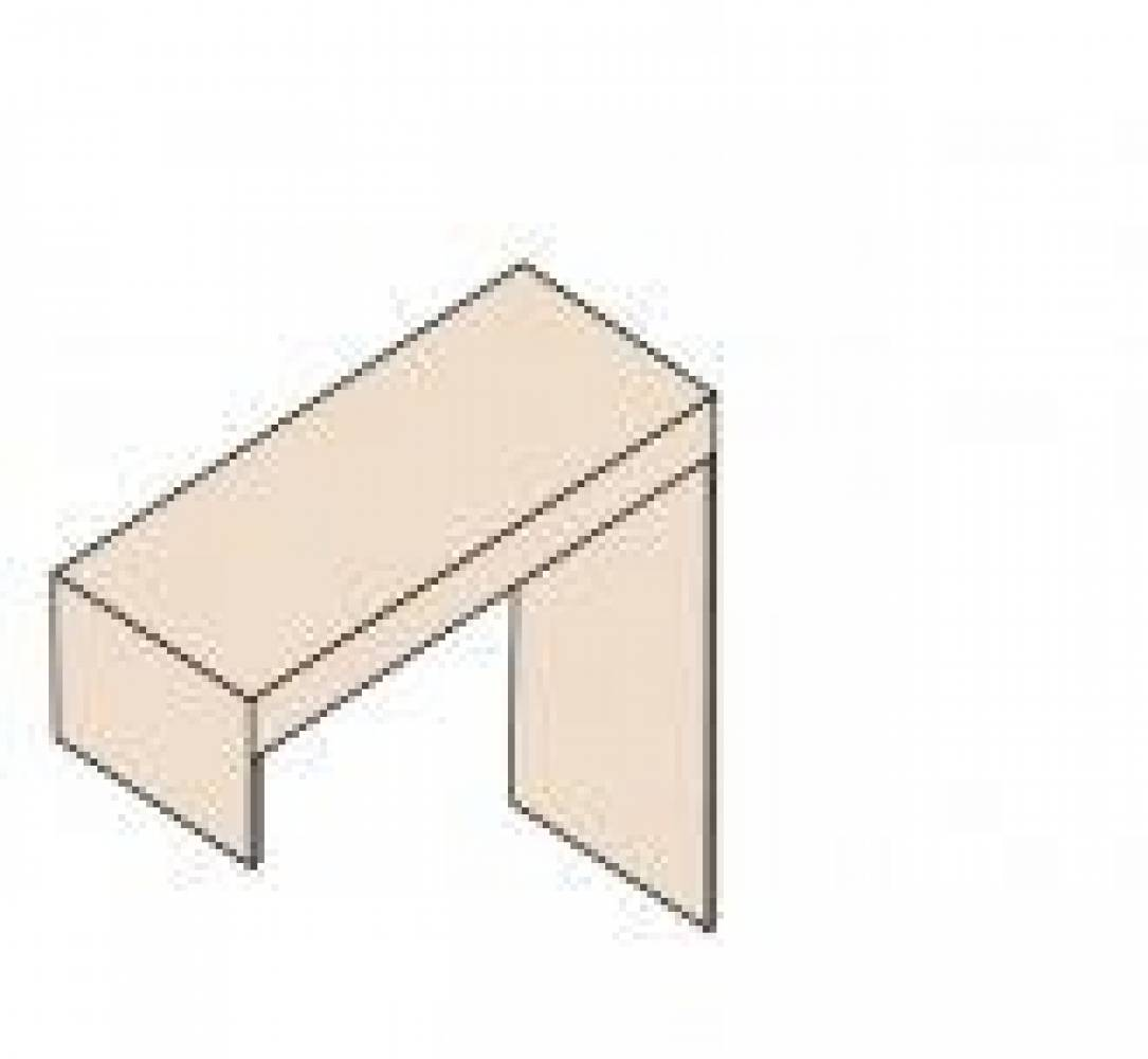 Ника Мод. Н17 Стол туалетный (собирается на обе стороны)