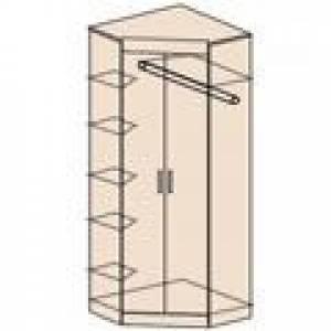 Ника Мод. Н5 Шкаф угловой без зеркала (боковые стороны одинаковые 360 мм)