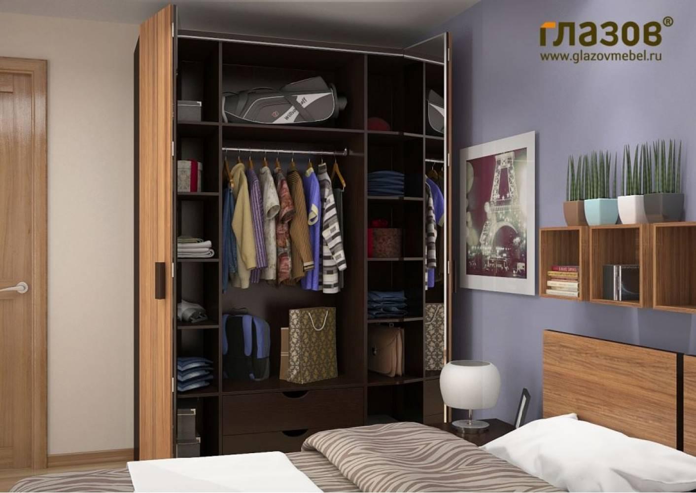Шкаф для одежды и белья 555 Сонома