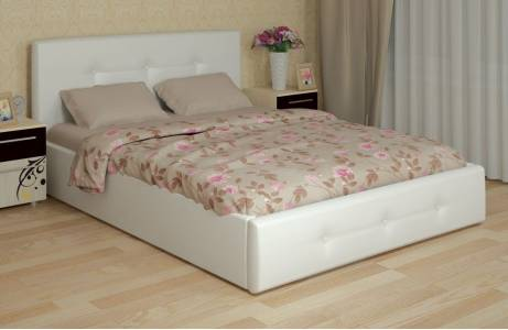 Линда Кровать интерьерная 160*200 (с под. механизмом и ящиком для белья)