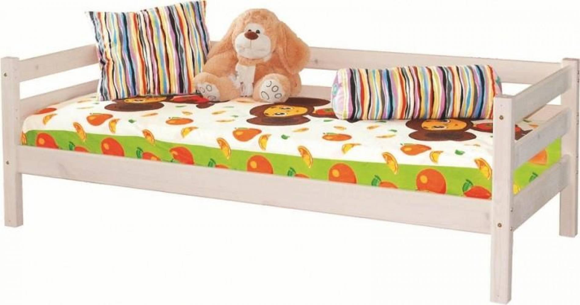 Детская кровать СОНЯ 2 с задней защитой Мебельград