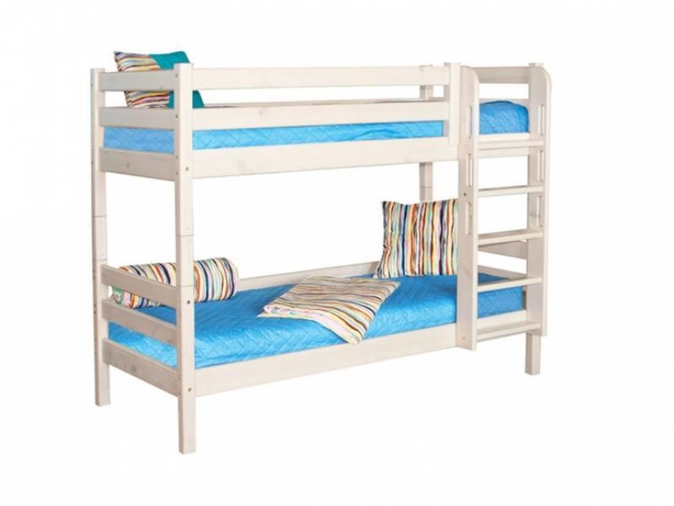 Двухъярусная кровать СОНЯ 9 с прям лест Мебельград