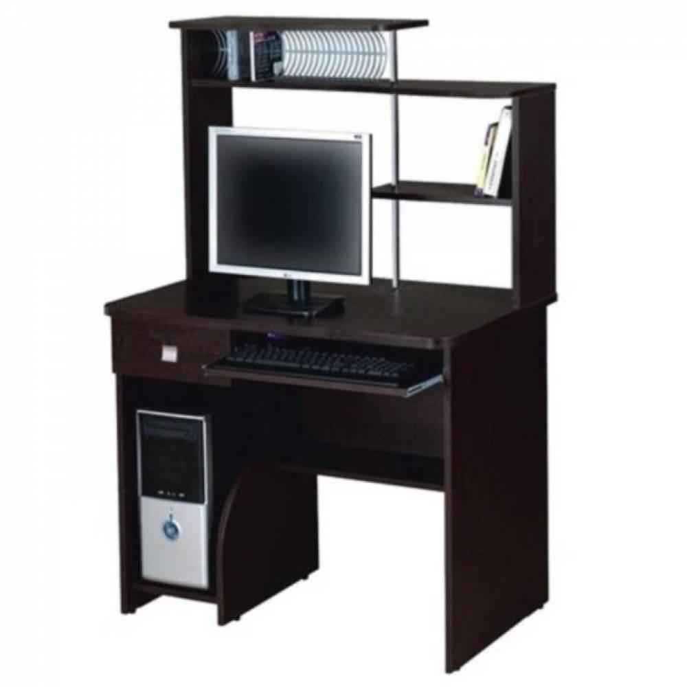 Стол компьютерный СК-08 (Венге мали) Мебельград