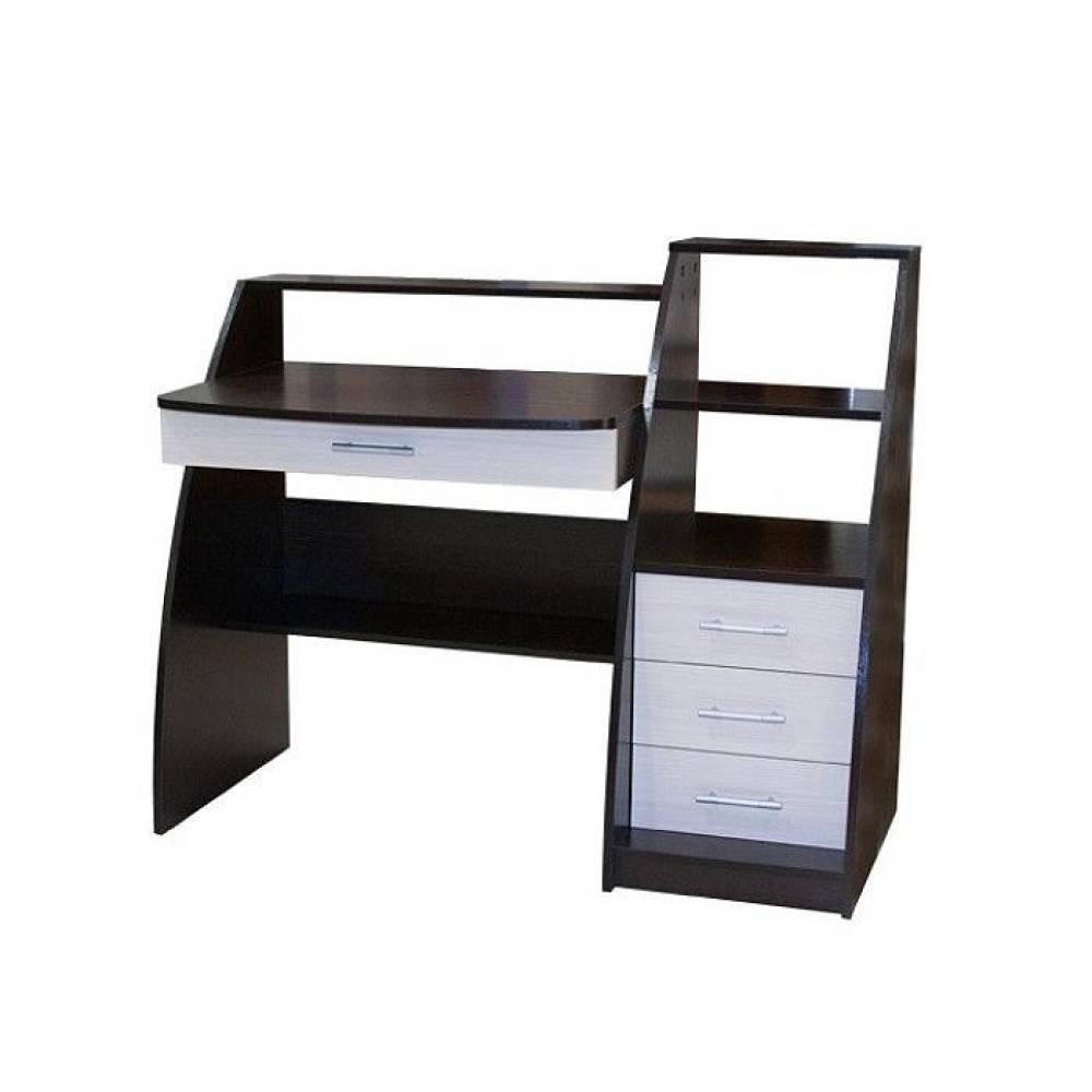 Стол компьютерный СК-09 (Венге/Дуб мол) Мебельград