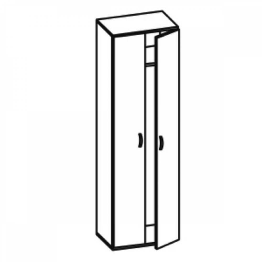Шкаф для одежды Грация 06.14-02 Олмеко