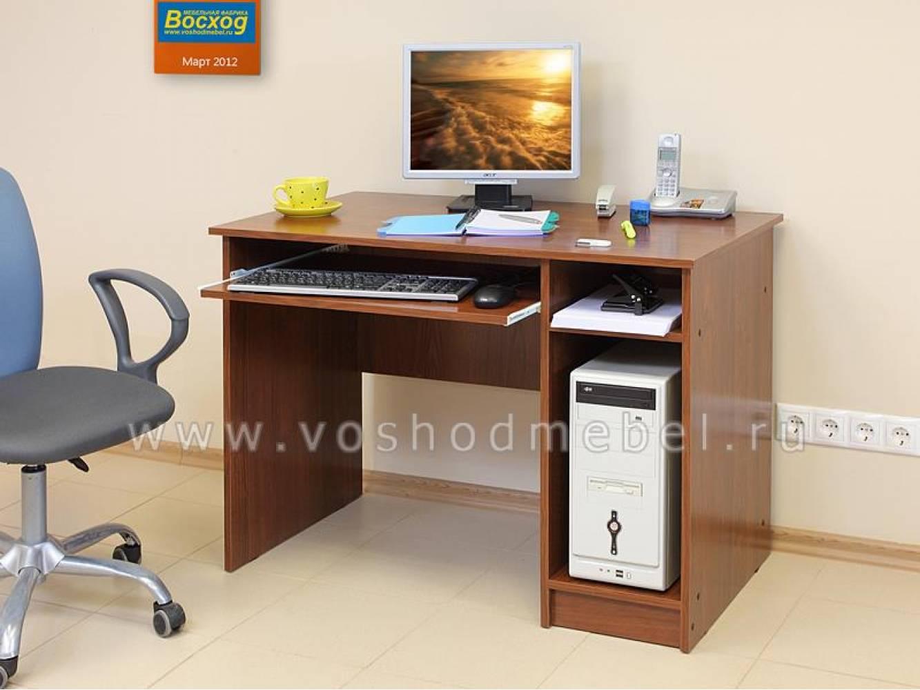 Компьютерный стол ПКС-2 (Донской Орех) Восход