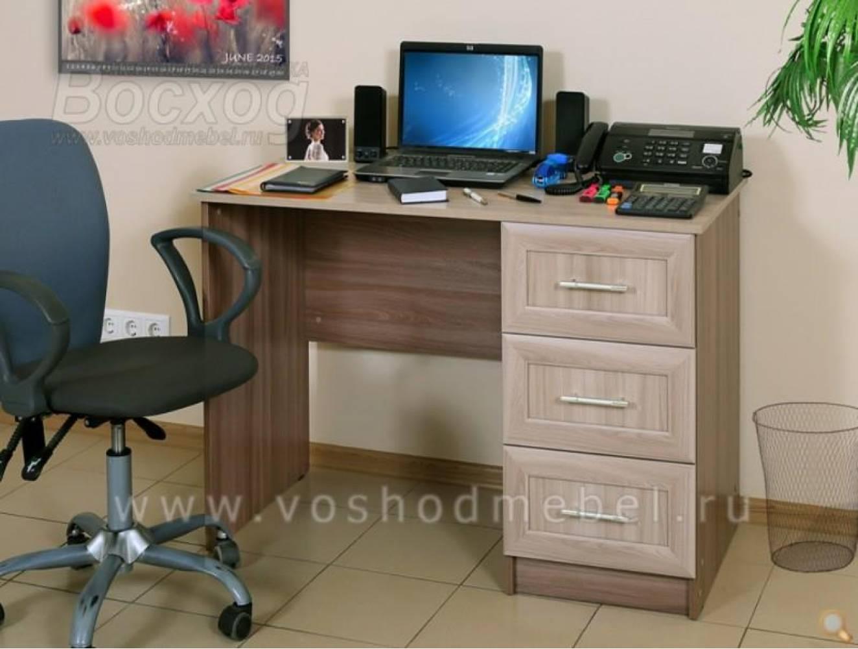 Компьютерный стол ПКС-6 (Шимо темн/светл) Восход