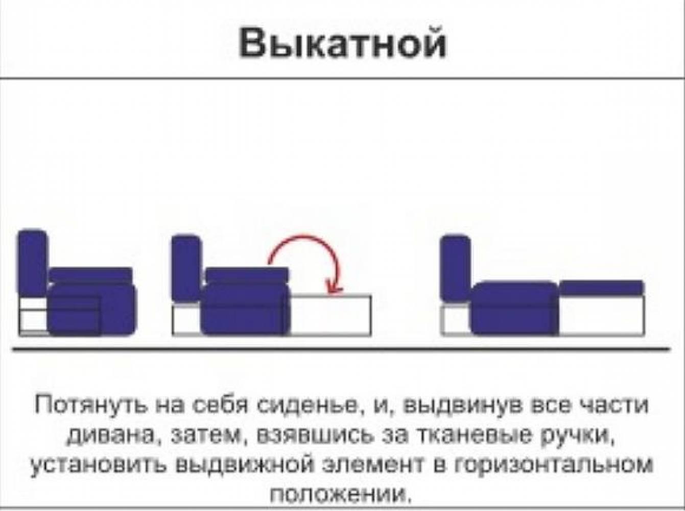Тахта МАСЯ - 7 (паровозик)  правый Олмеко