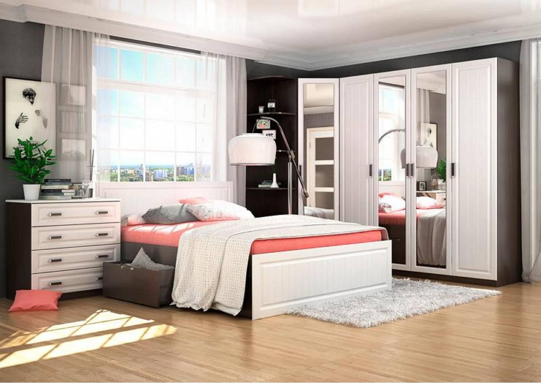 Спальня ПРАГА Сурская мебель