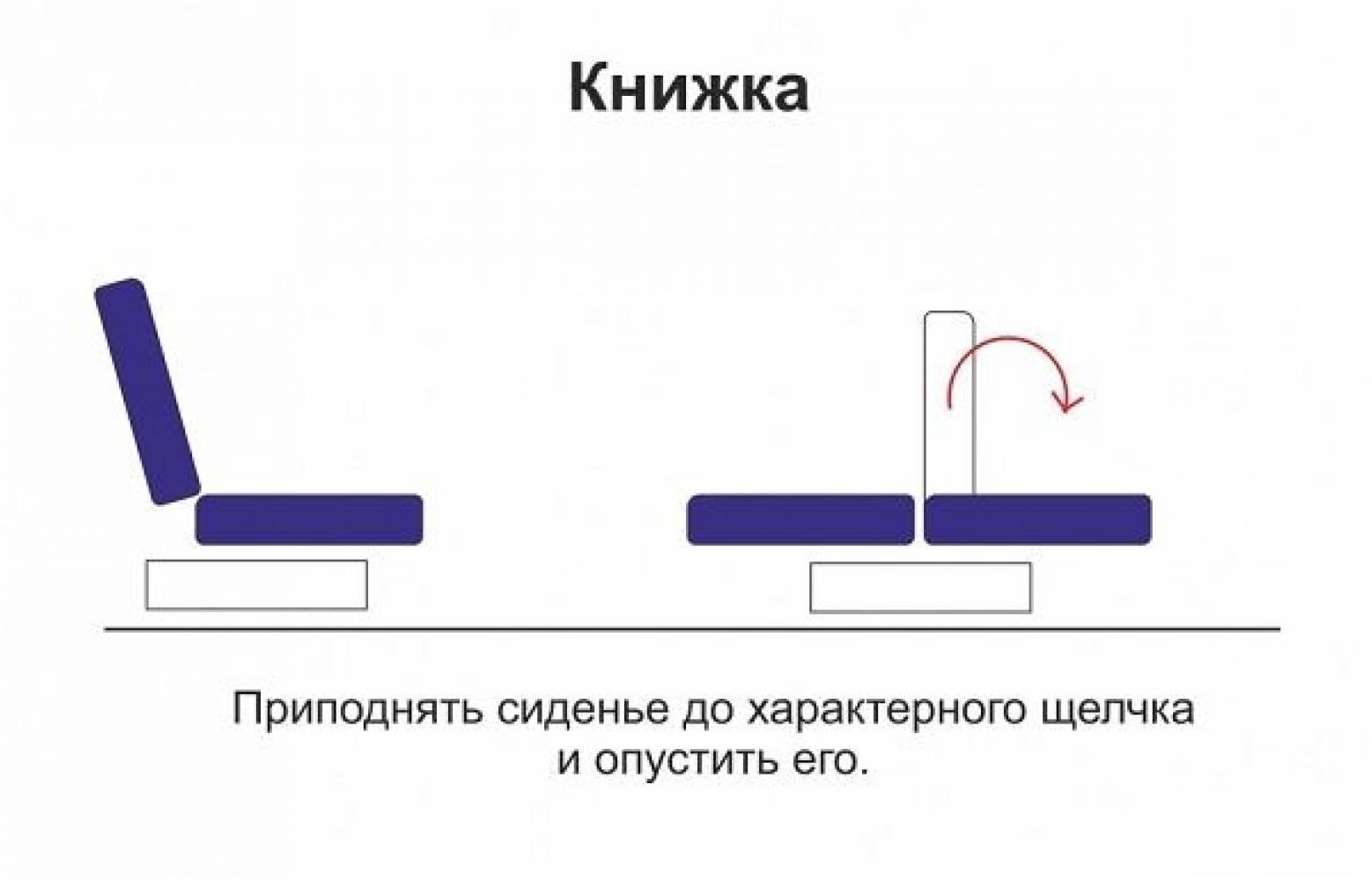 Диван - кровать НОКТЮРН Олмеко